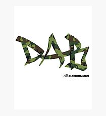 DAB camo Photographic Print