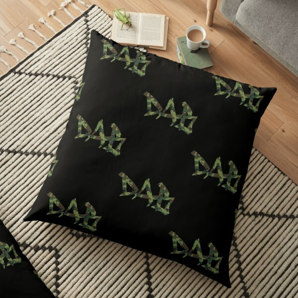 DAB camo Floor Pillow