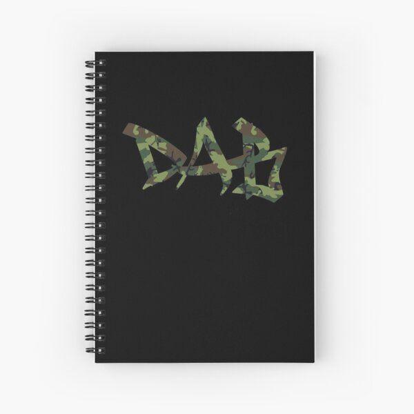 DAB camo Spiral Notebook