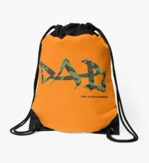 DAB camo Drawstring Bag