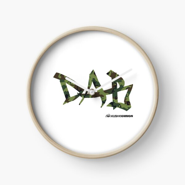 DAB camo Clock