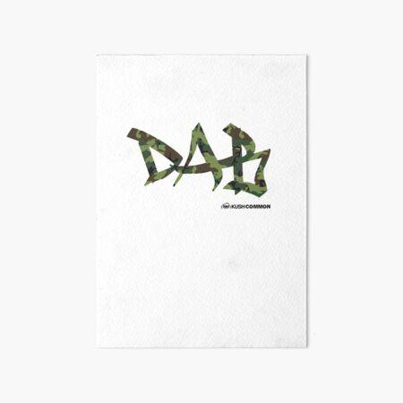 DAB camo Art Board Print