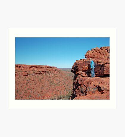 Kings Canyon, Watarrka National Park, Northern Territory, Australia Art Print