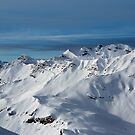 Snowbound Alps by Dave Hare