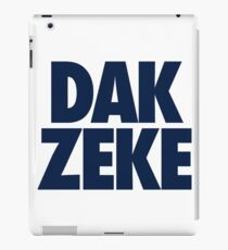 Dak and zeke together iPad Case/Skin