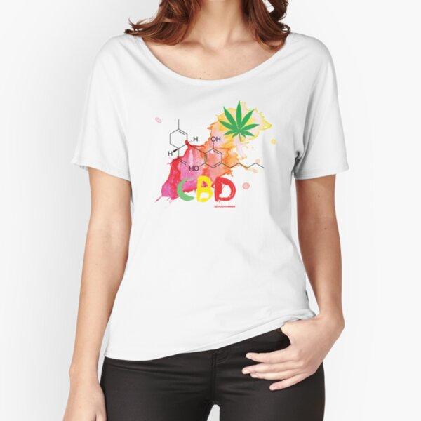CBD Splash Relaxed Fit T-Shirt