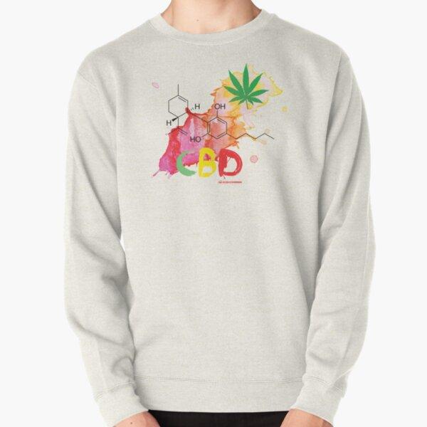 CBD Splash Pullover Sweatshirt