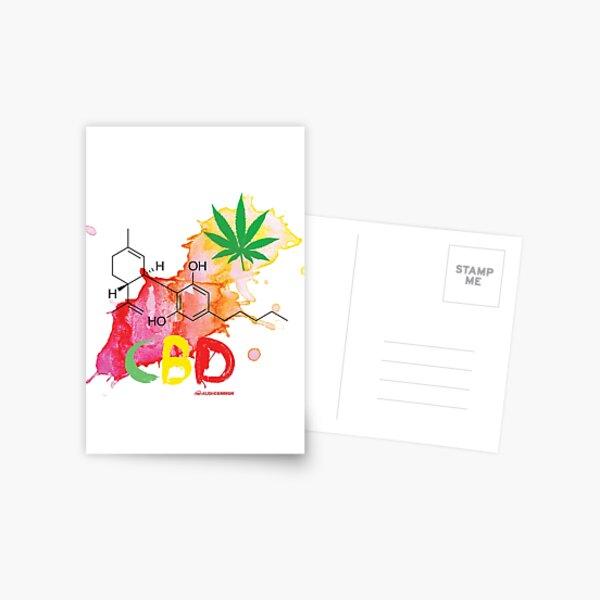 CBD Splash Postcard
