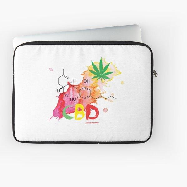 CBD Splash Laptop Sleeve