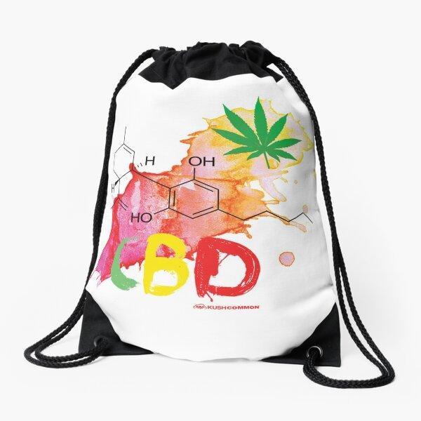 CBD Splash Drawstring Bag