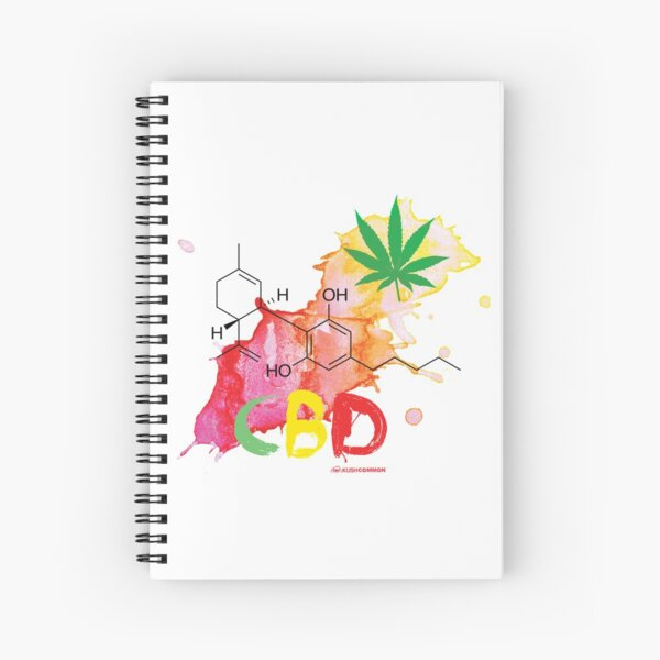 CBD Splash Spiral Notebook