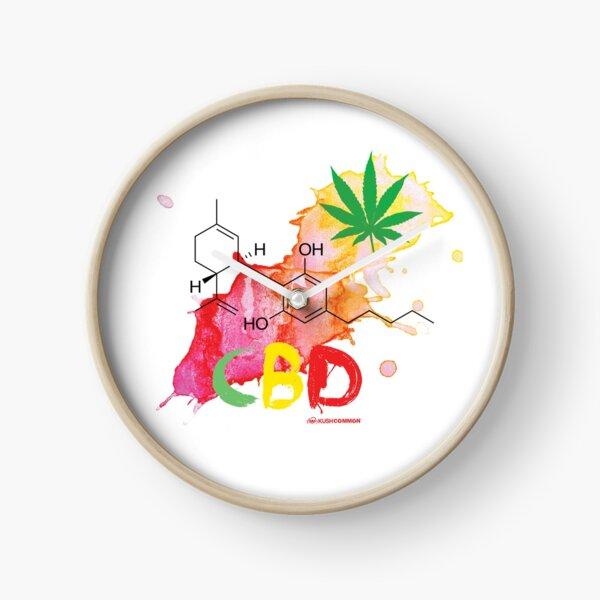CBD Splash Clock