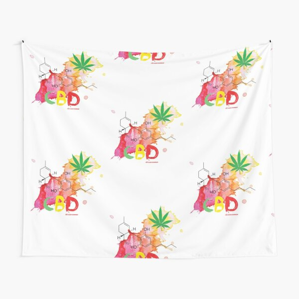 CBD Splash Tapestry