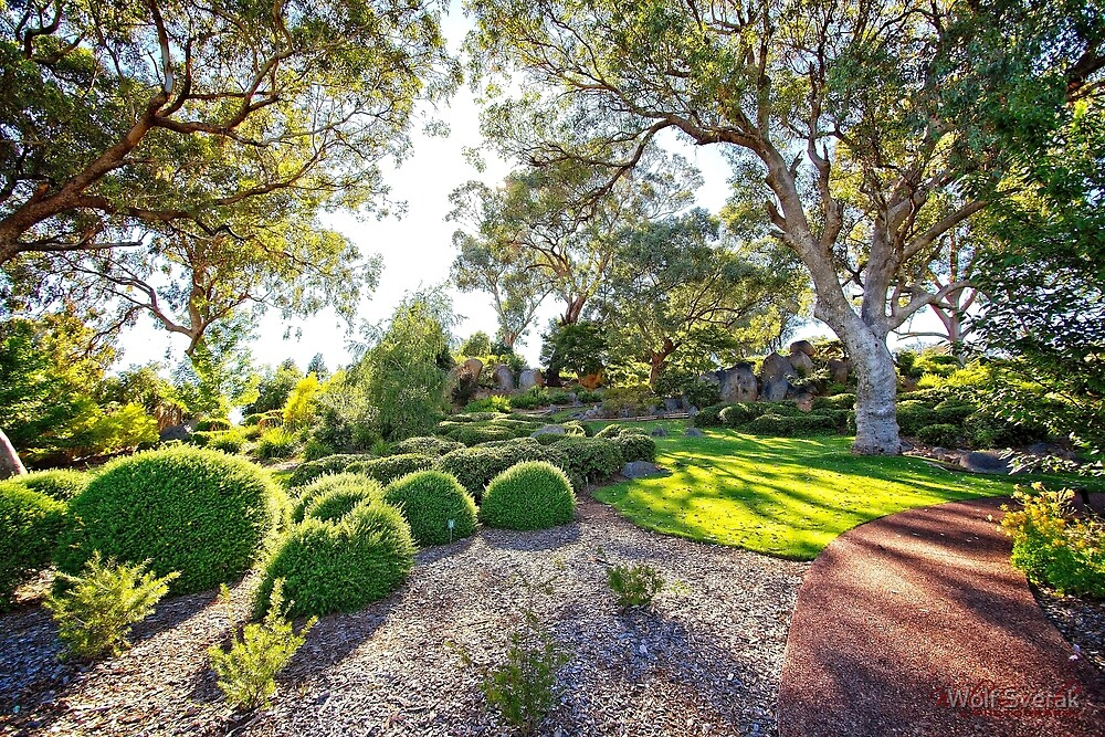 Japanese Garden in Cowra/NSW/Australia (2) by Wolf Sverak