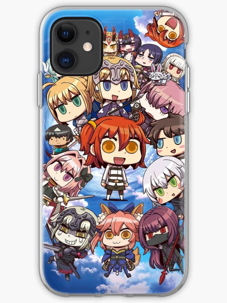 coque iphone 8 jeanne d'arc fate