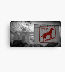 Dingo Flour - Fremantle - WA Canvas Print