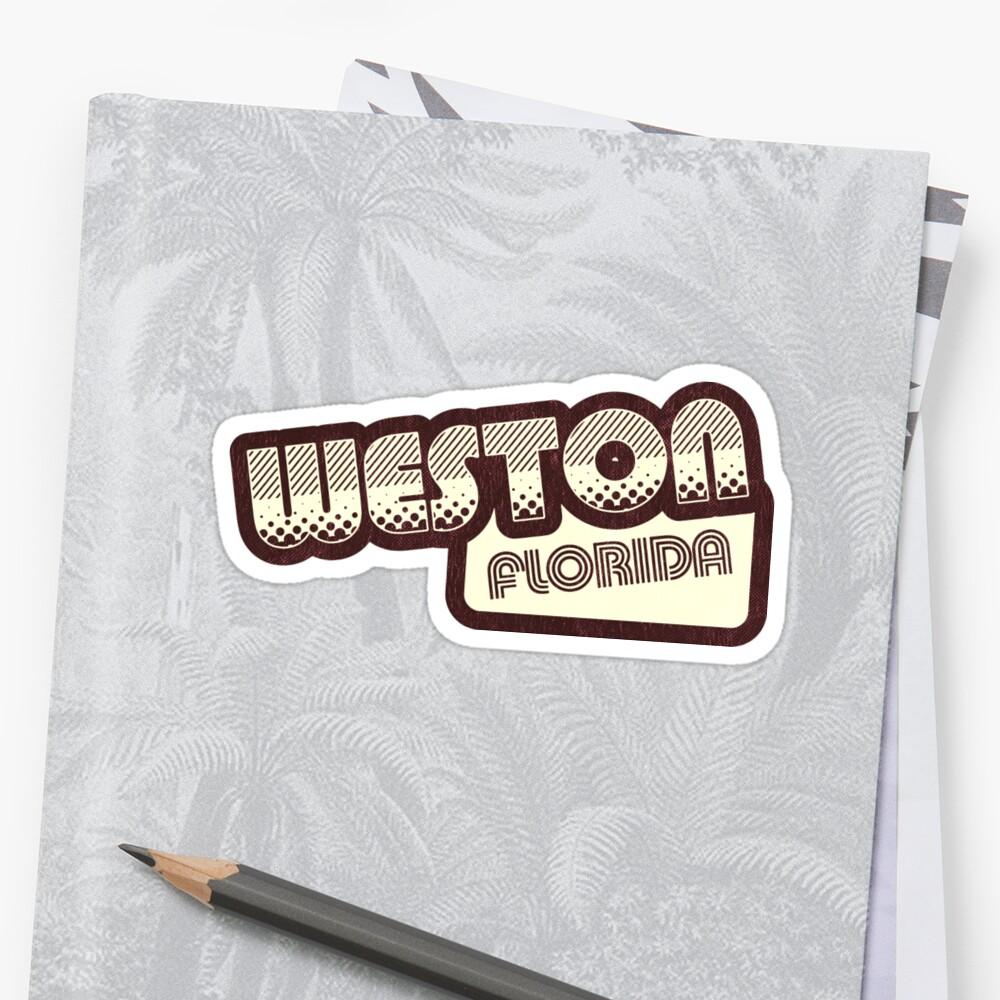 Weston, Florida | Retro Halftone by retroready