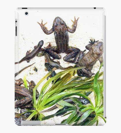 Froggy Furore #2 iPad Case/Skin
