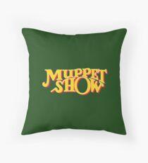 Muppet show Throw Pillow