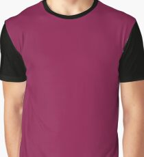 Violet-Red Graphic T-Shirt