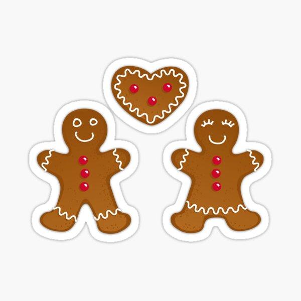 Gingerlove herzige Lebkuchen Liebe Sticker