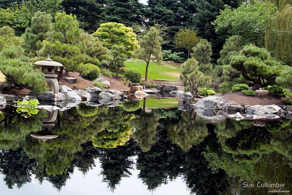 Japanese Garden by Sue  Cullumber