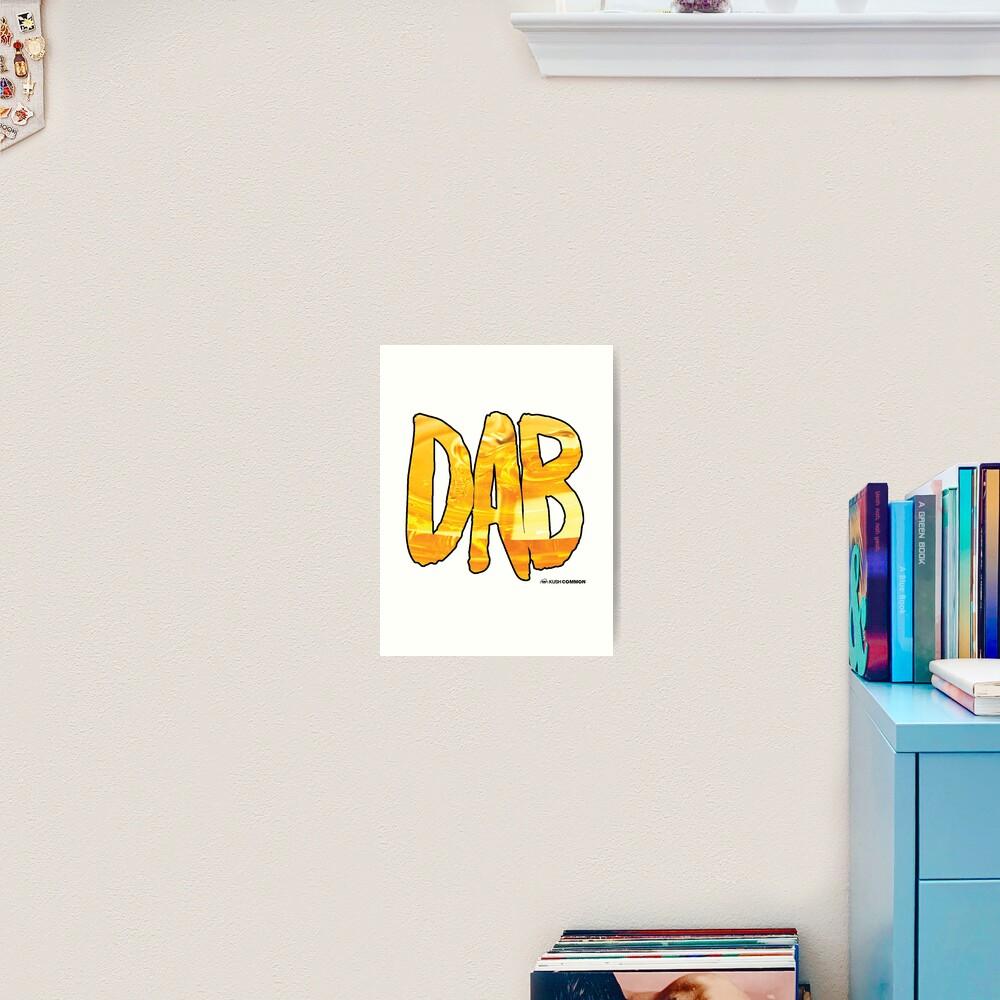 DAB Honey Art Print