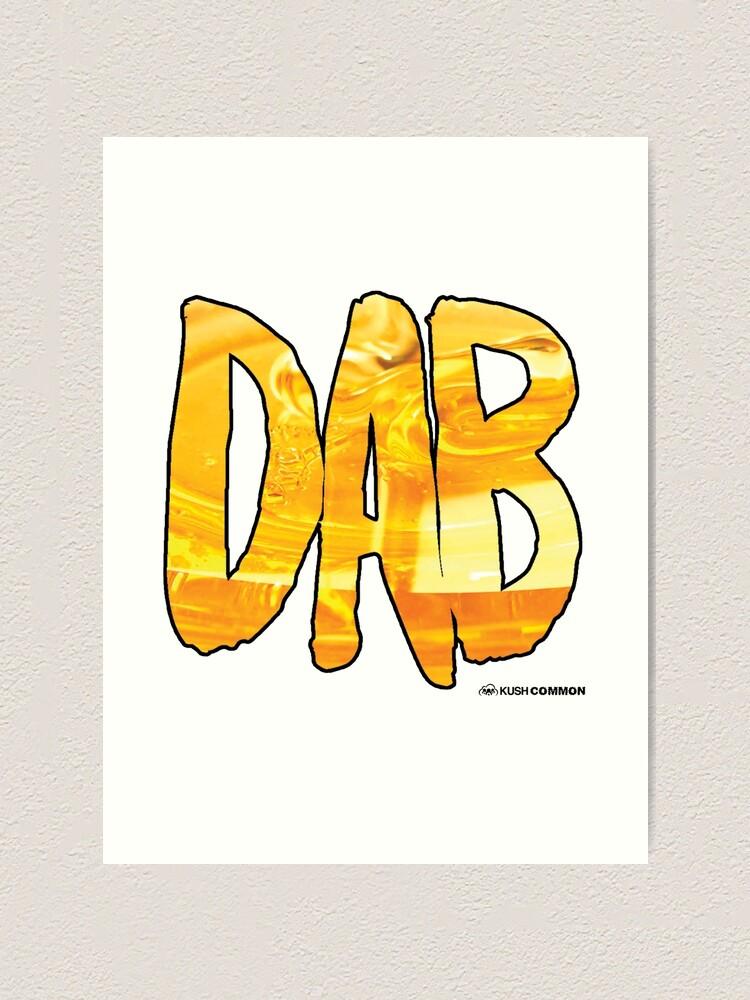 Alternate view of DAB Honey Art Print