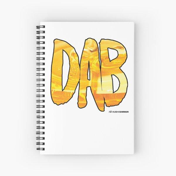 DAB Honey Spiral Notebook