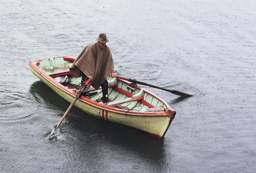 Valparaiso Boatman by gondwana