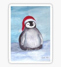 Krinkle Christmas Baby Penguin Sticker