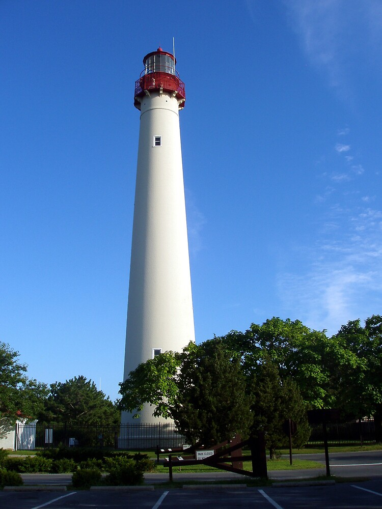 Cape May Lighthouse by Maria  Palumbo