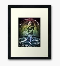 Let There Be Rock 3 Framed Print