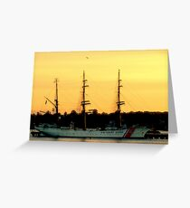U S Coast Guard Greeting Card