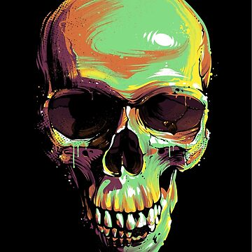 Paint Skull by Vecster