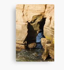Scenes From Shell Beach In La Jolla - 4 © Canvas Print