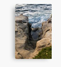 Scenes From Shell Beach In La Jolla - 5 © Canvas Print