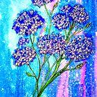 «Burst of Spring - Hortensias» de Linda Callaghan