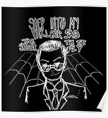 Moriarty - Spider and The Fly Poster