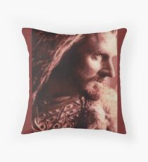 Thorin Oakenshield Stitched look Throw Pillow