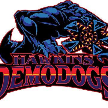 Hawkings Demodogs by FrauNorberto