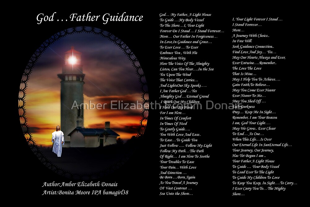 God Father Guidance Triab by Amber Elizabeth Fromm Donais