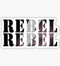 DAVID BOWIE - REBEL REBEL Sticker