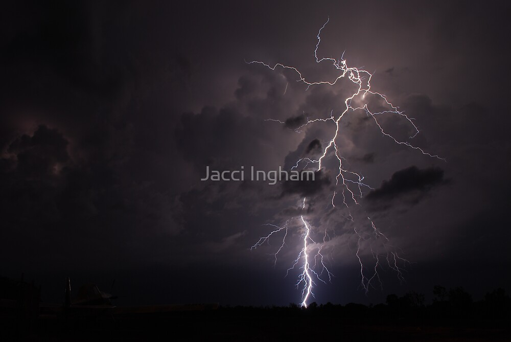 Litchfield Lightshow - Jacci Ingham (c) by Jacci Ingham