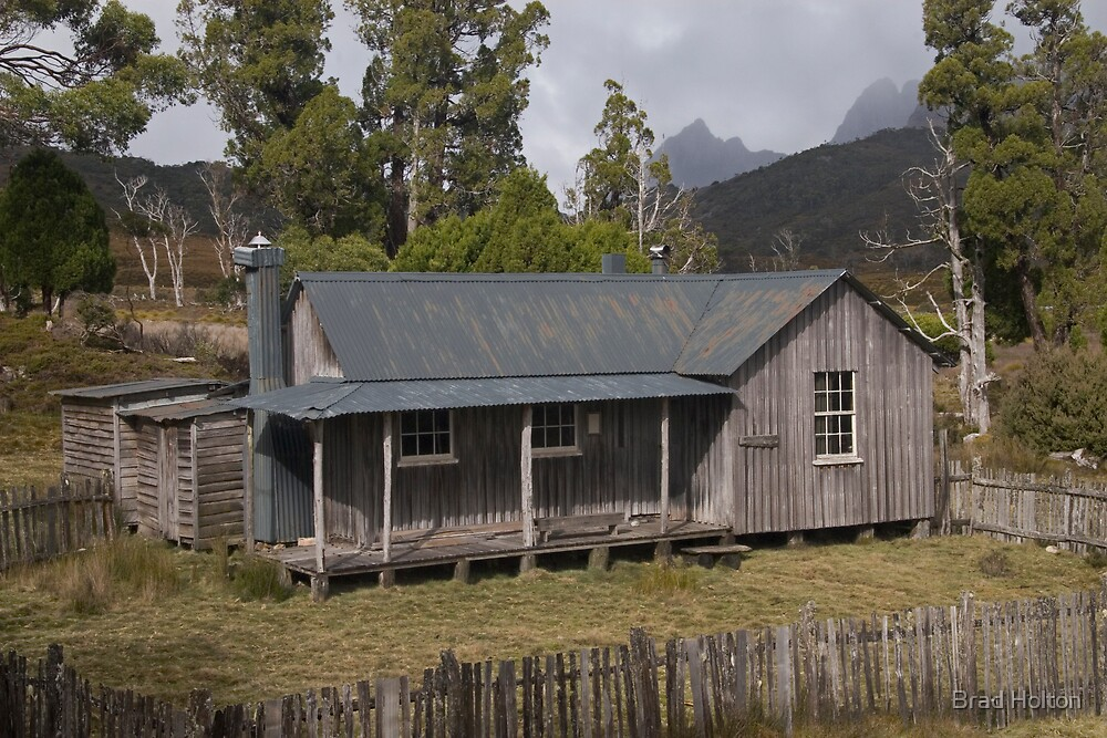 Mount Kate Hut and Cradle Mountain by Brad Holton