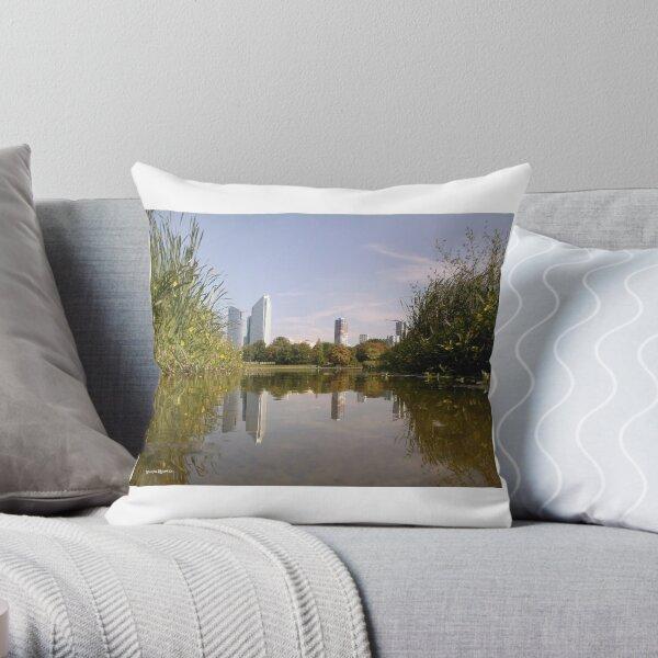 The Nature Big Town Throw Pillow