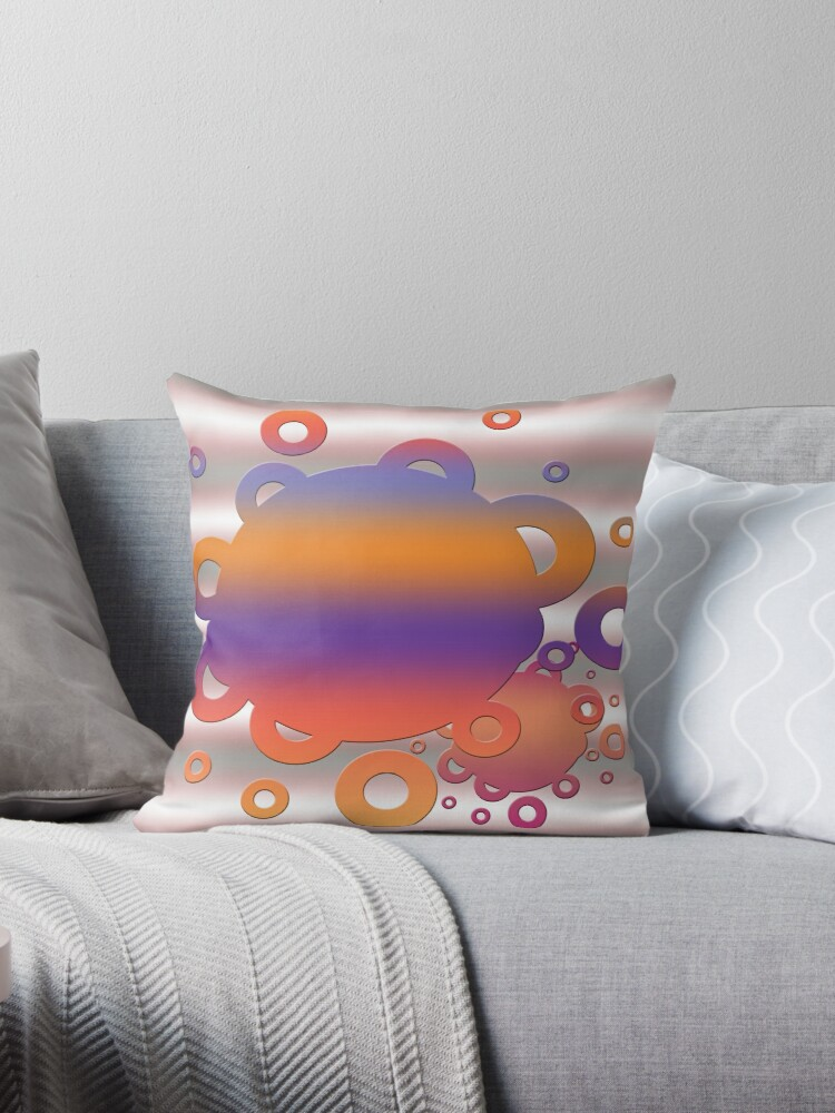 Bubbles in orange and purple by Epic Splash Creations