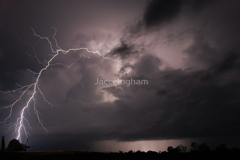 Bolt From The Blue - Jacci Ingham (c) by Jacci Ingham