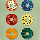 Donuts by Sybille Sterk