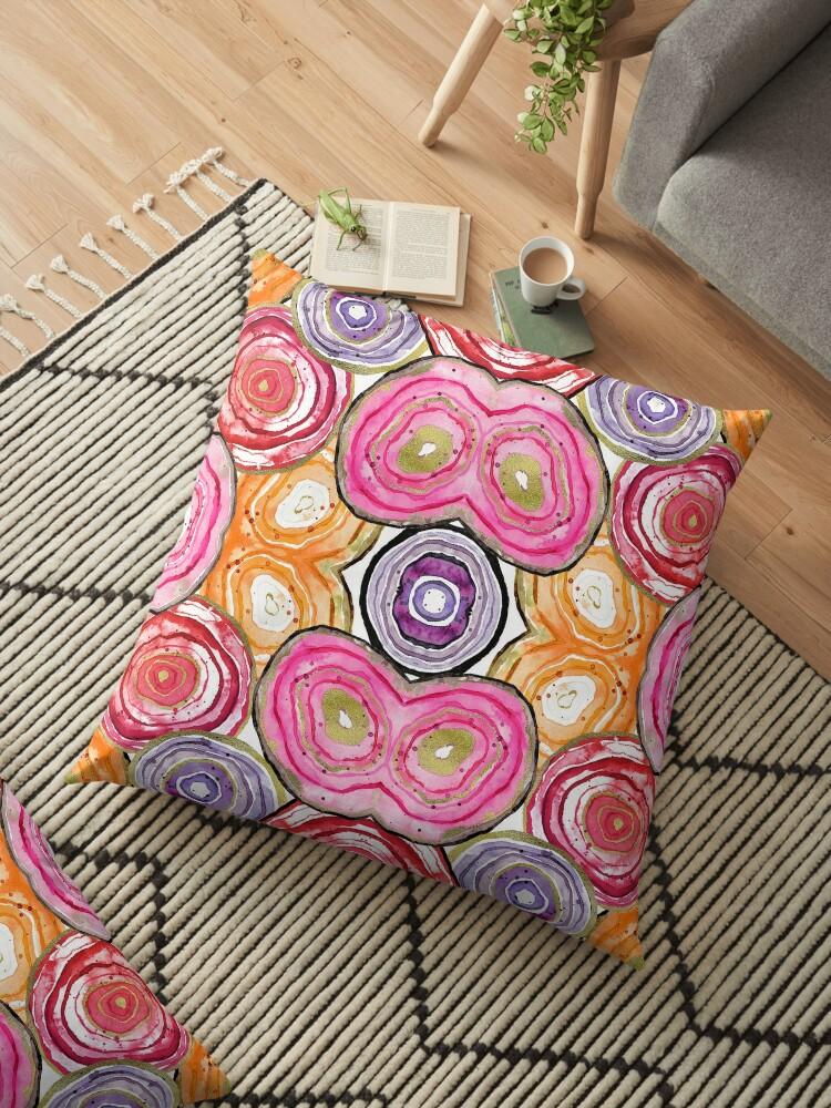 Colorful Geode Pattern by stylebytara